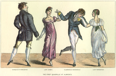 The First Quadrille at Almack's
