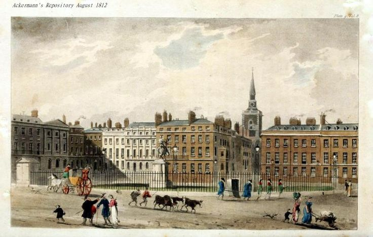 St. James Square, 1812.