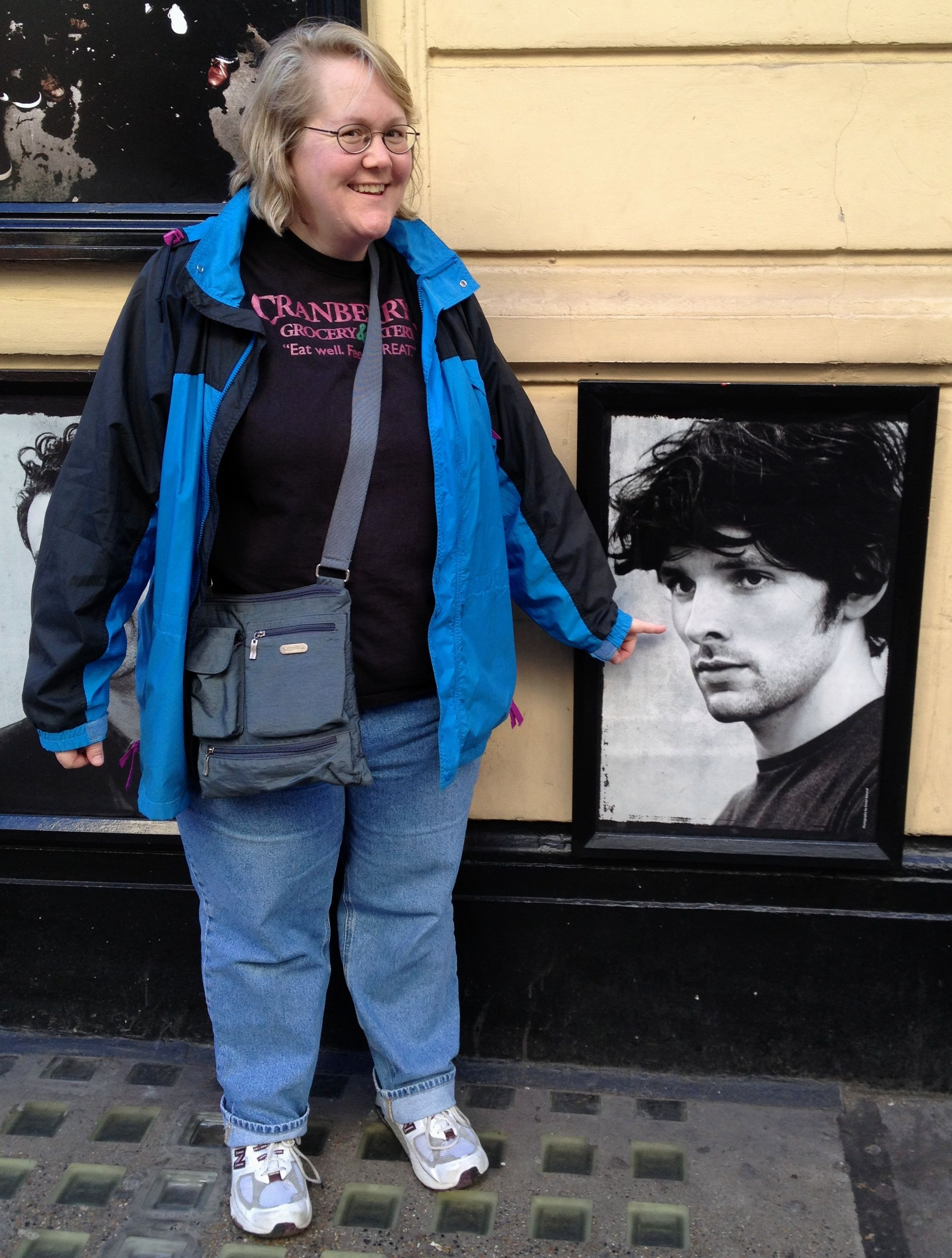 In front of the Harold Pinter theatre. I thought this would be the closest I would get to Mr. Morgan.