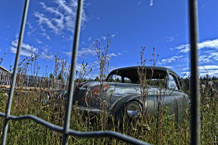 Old Car. Photo by Brigitte Werner.