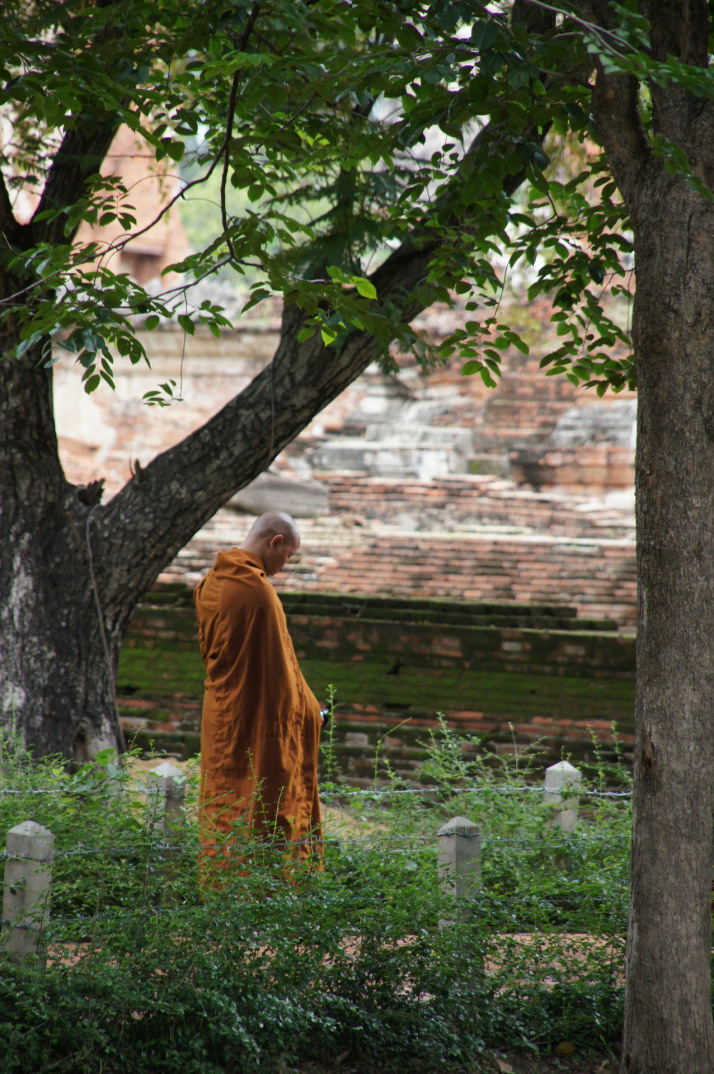 Monk (Thailand). Photo courtesy of Shuco.