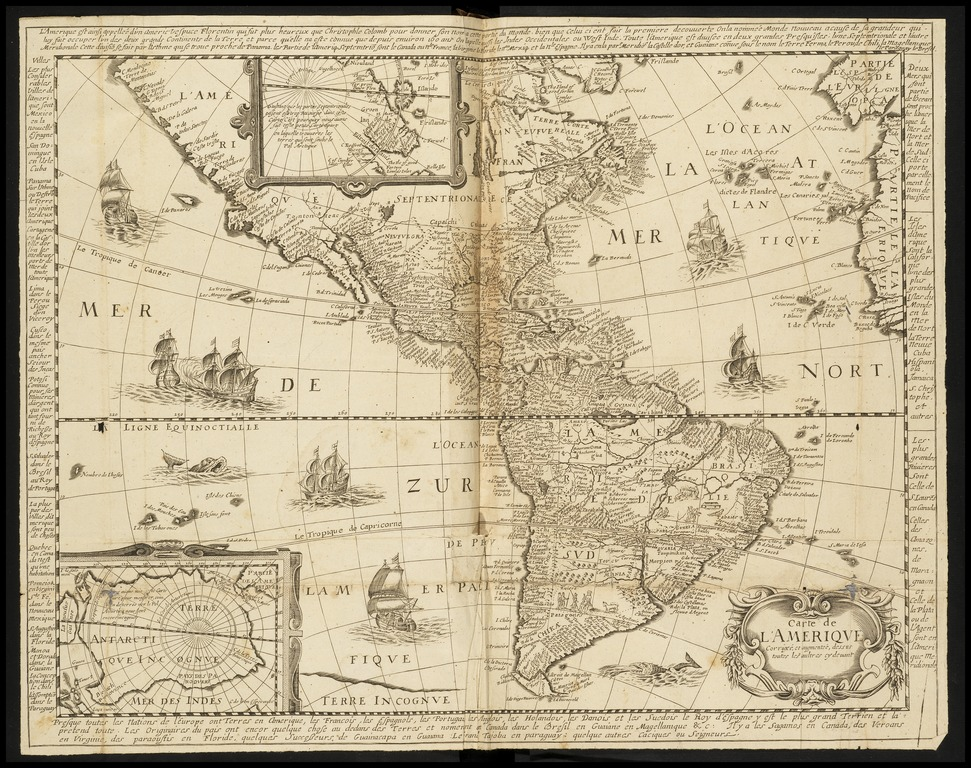 Map from the Getty collection.