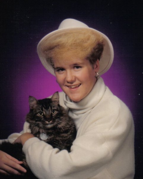 The hat! The cat! Yup, it's me in 1989.