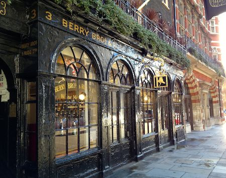 Berry Bros & Rudd, wine merchants