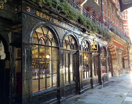 Berry Bros & Rudd, wine merchants