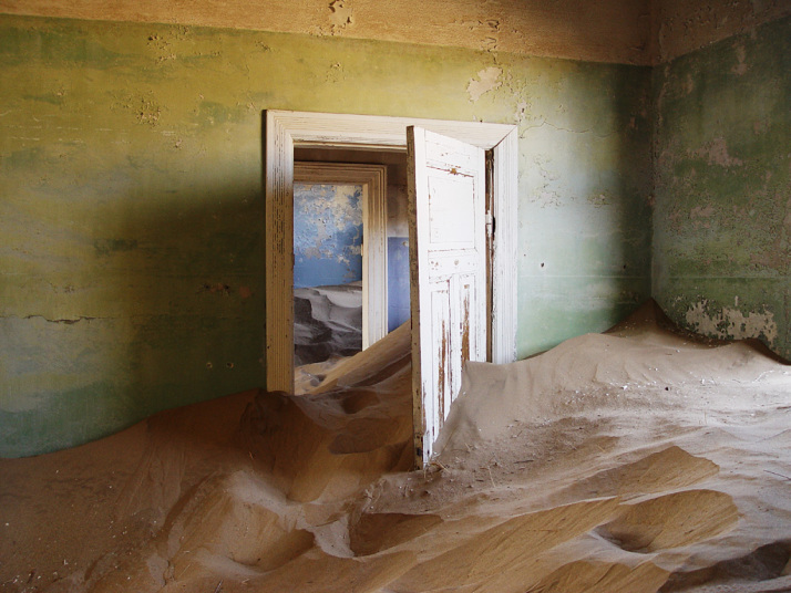 Kolmanskop. CC photo by Damien du Toit.