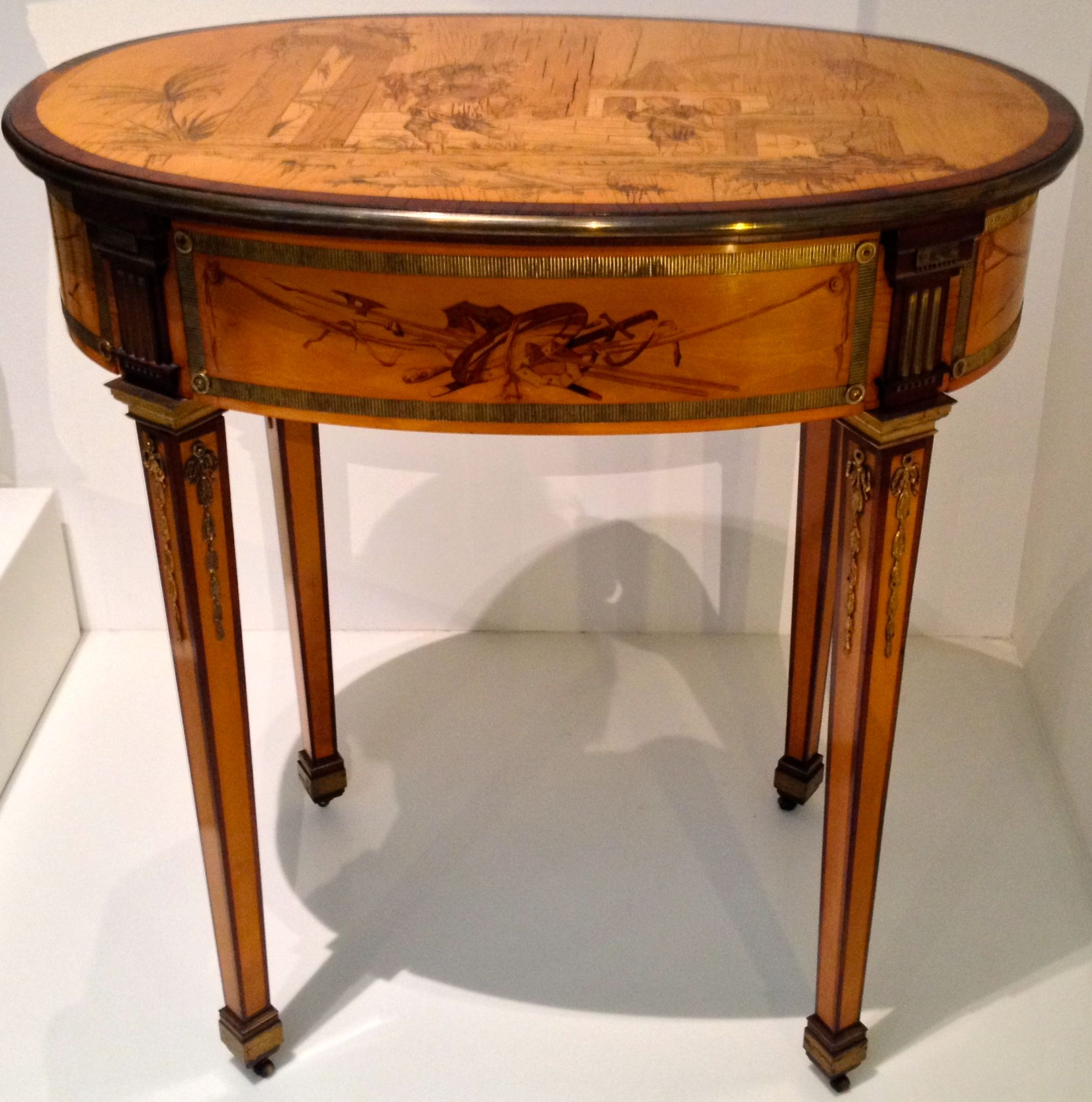 A beautiful writing table