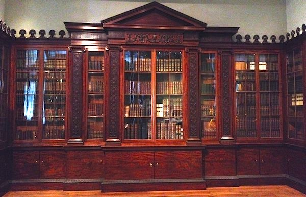 Oh, to have a library like this!