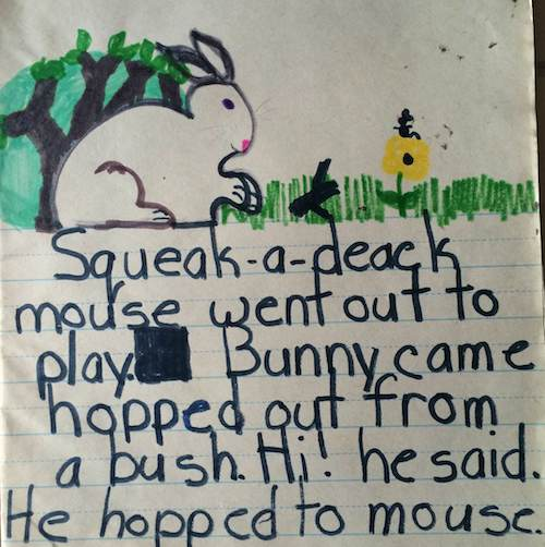 Throwback Thursday: Funny Bunny - My Very First Story Ever ...