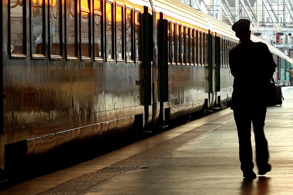 Gare du Nord, Paris. CC Photo by Elliot Gilfix.