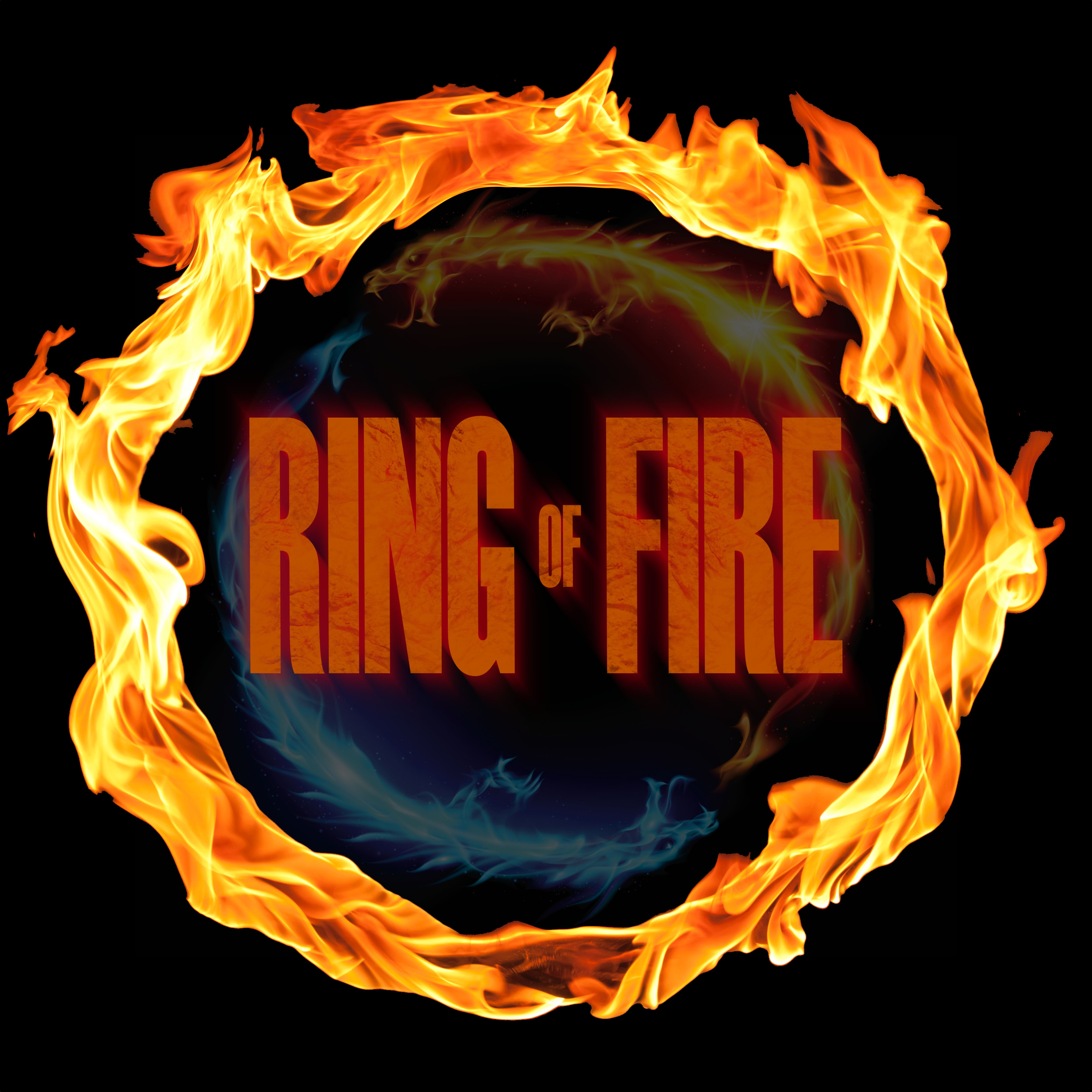 Flash Friday Ring of Fire Badge