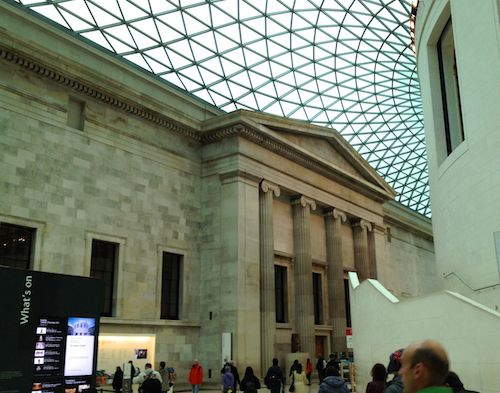 Foyer of the British Museum