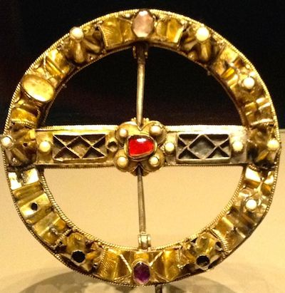 Scottish brooch, @1530s.