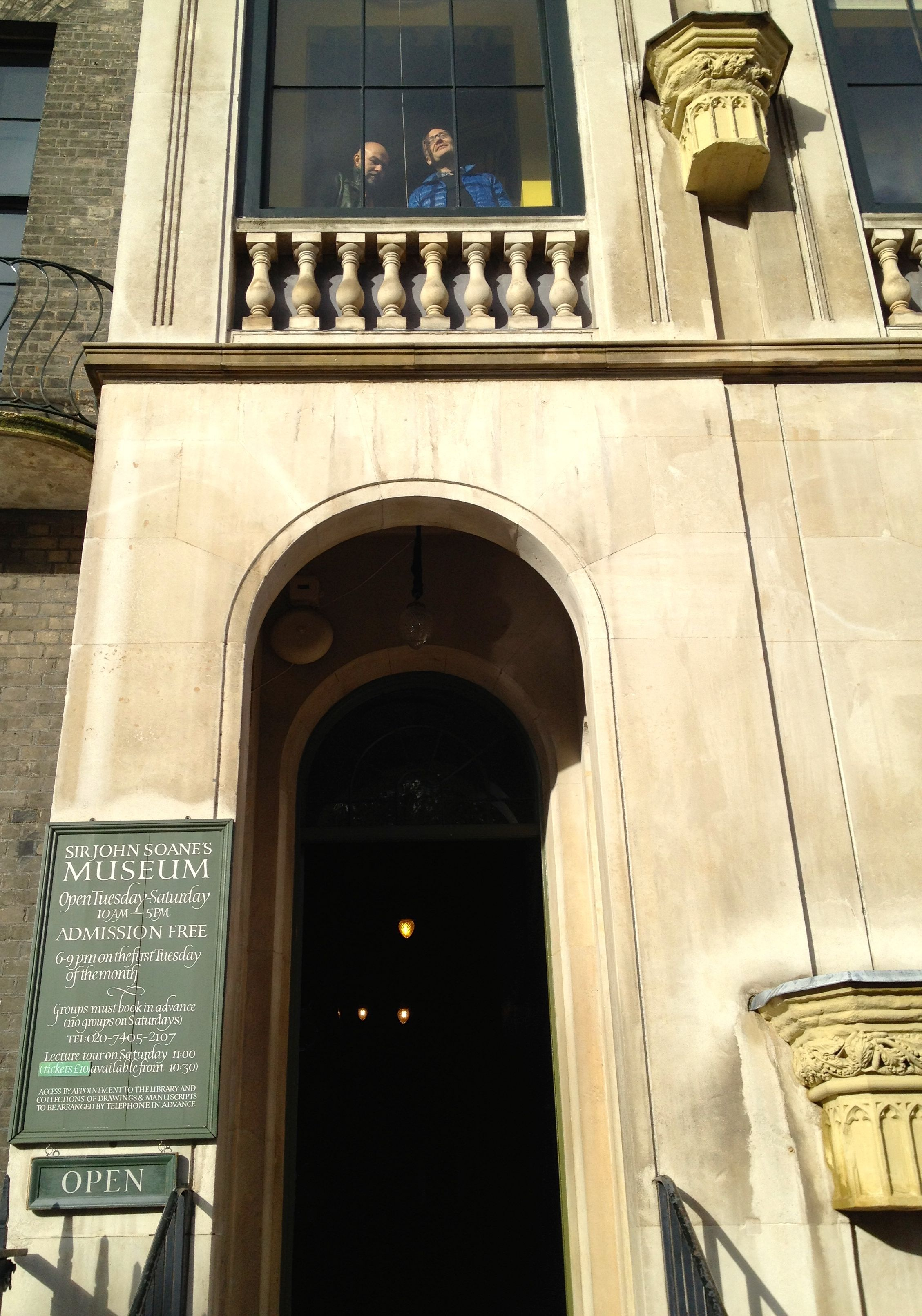 Entrance to Soane Museum