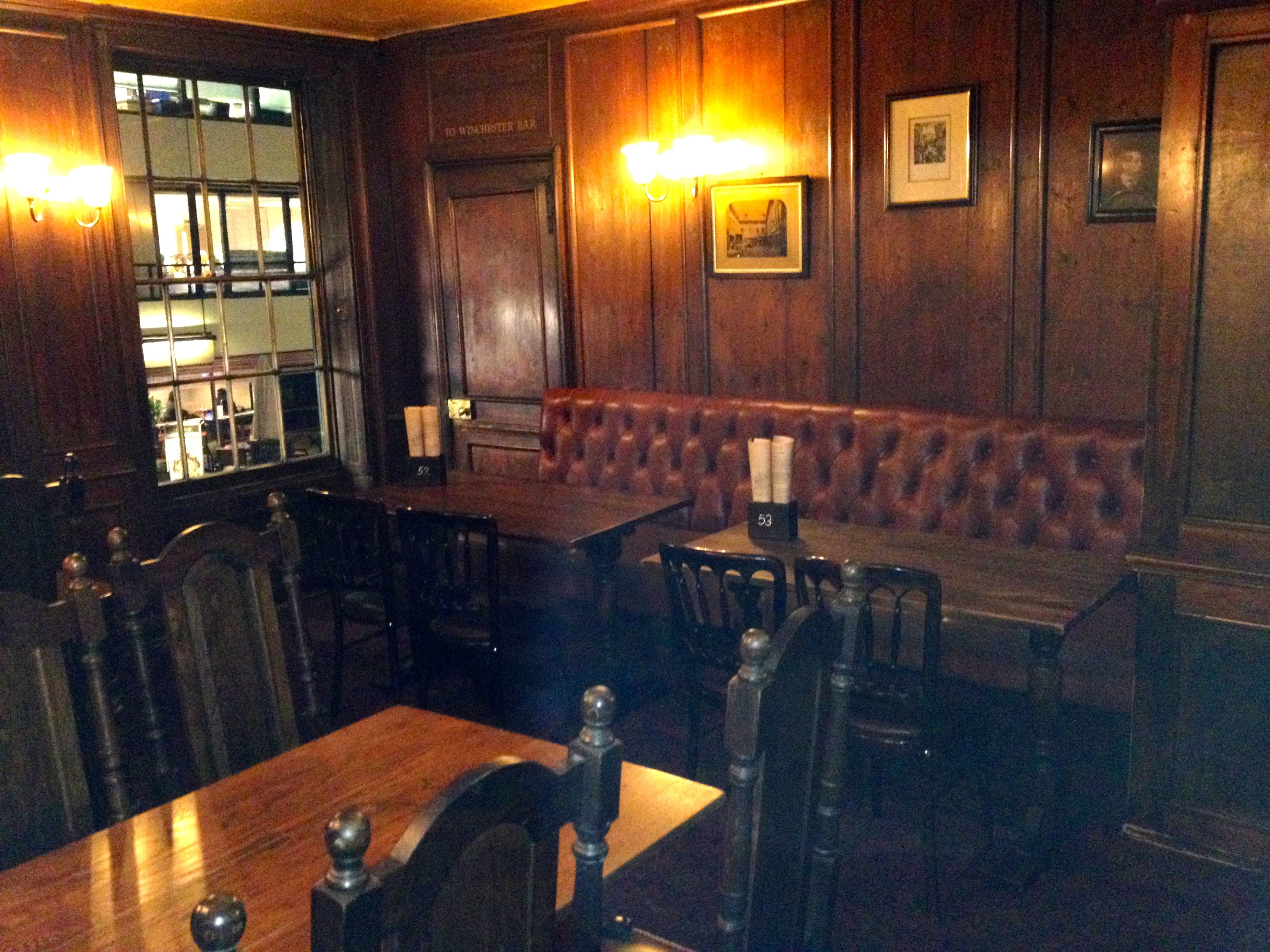 Interior of The George Inn