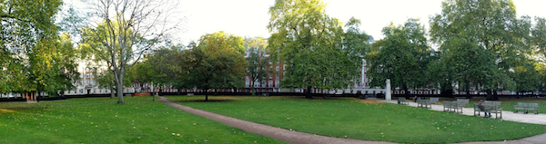 Inside and around Grosvenor Square