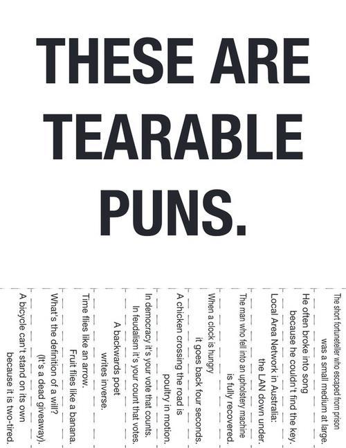 tearablepuns