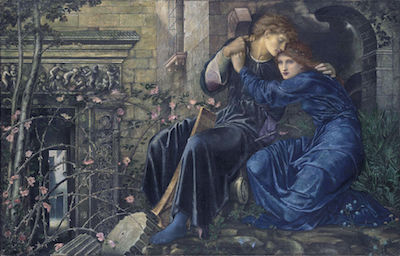 Love Among the Ruines - Edward Burne-Jones