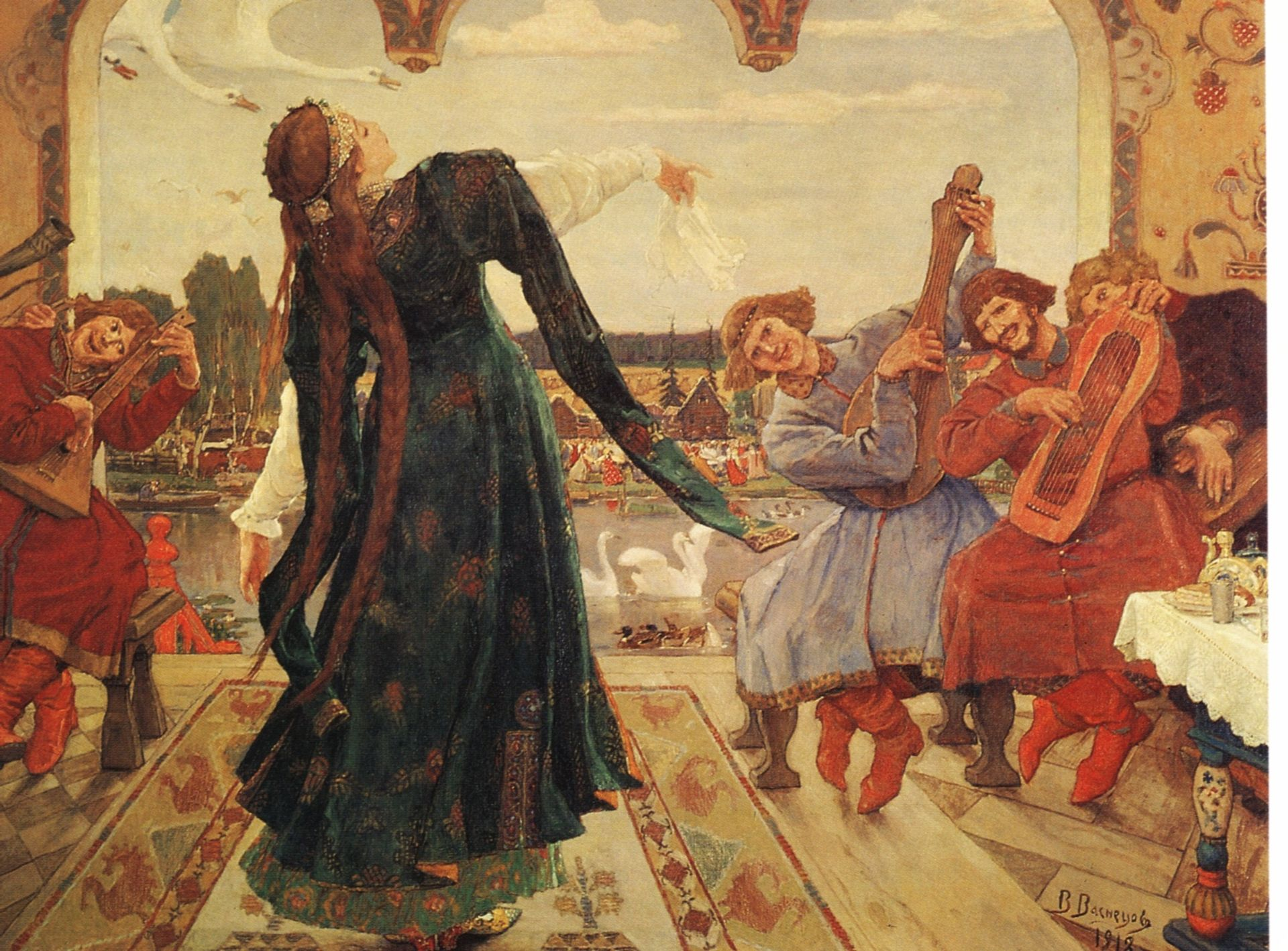 Viktor Vasnetsov. The Frog Tsarevna. 1918
