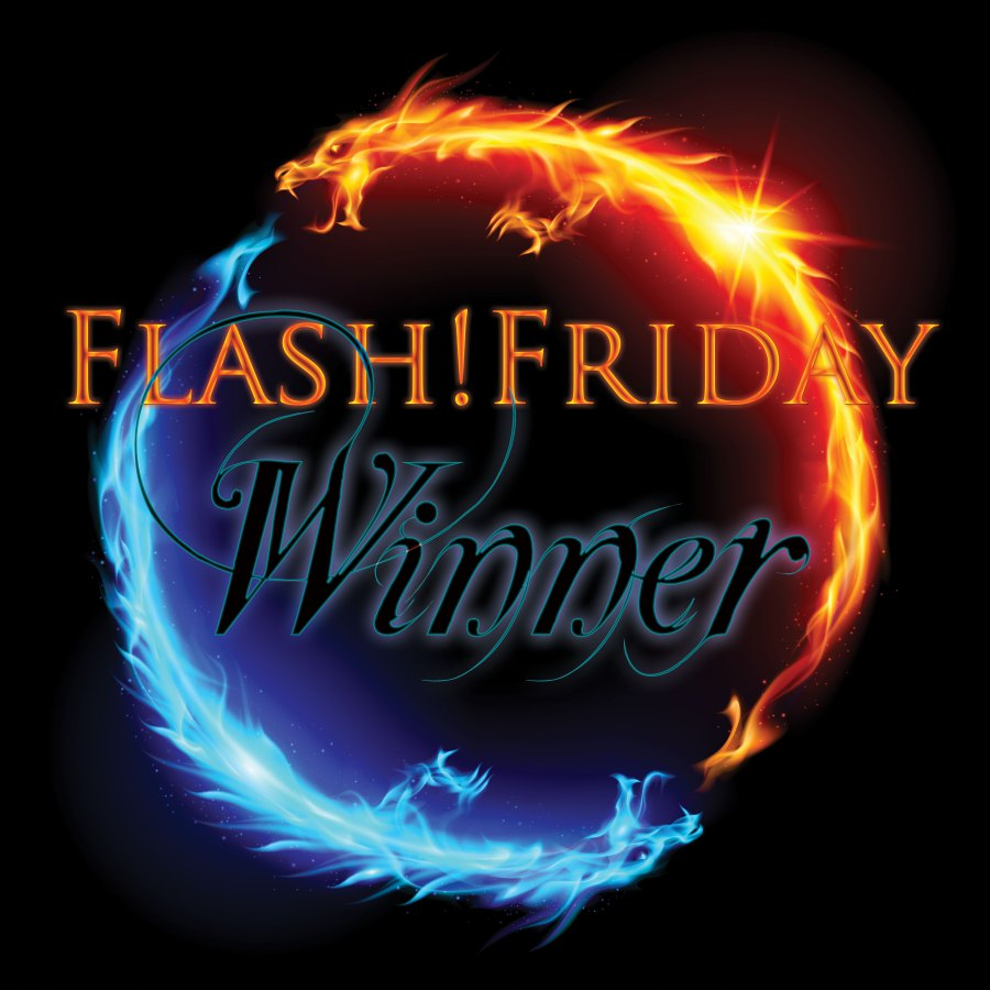 The coveted Flash Friday winner's badge