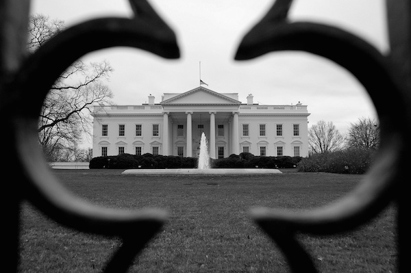 Black and White House. CC2.0 photo by Scott Ableman.