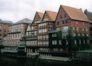 Row houses in Lüneberg – for a nice German feel, and also to say, it was gorgeous. Not every day was a bad day. ;)