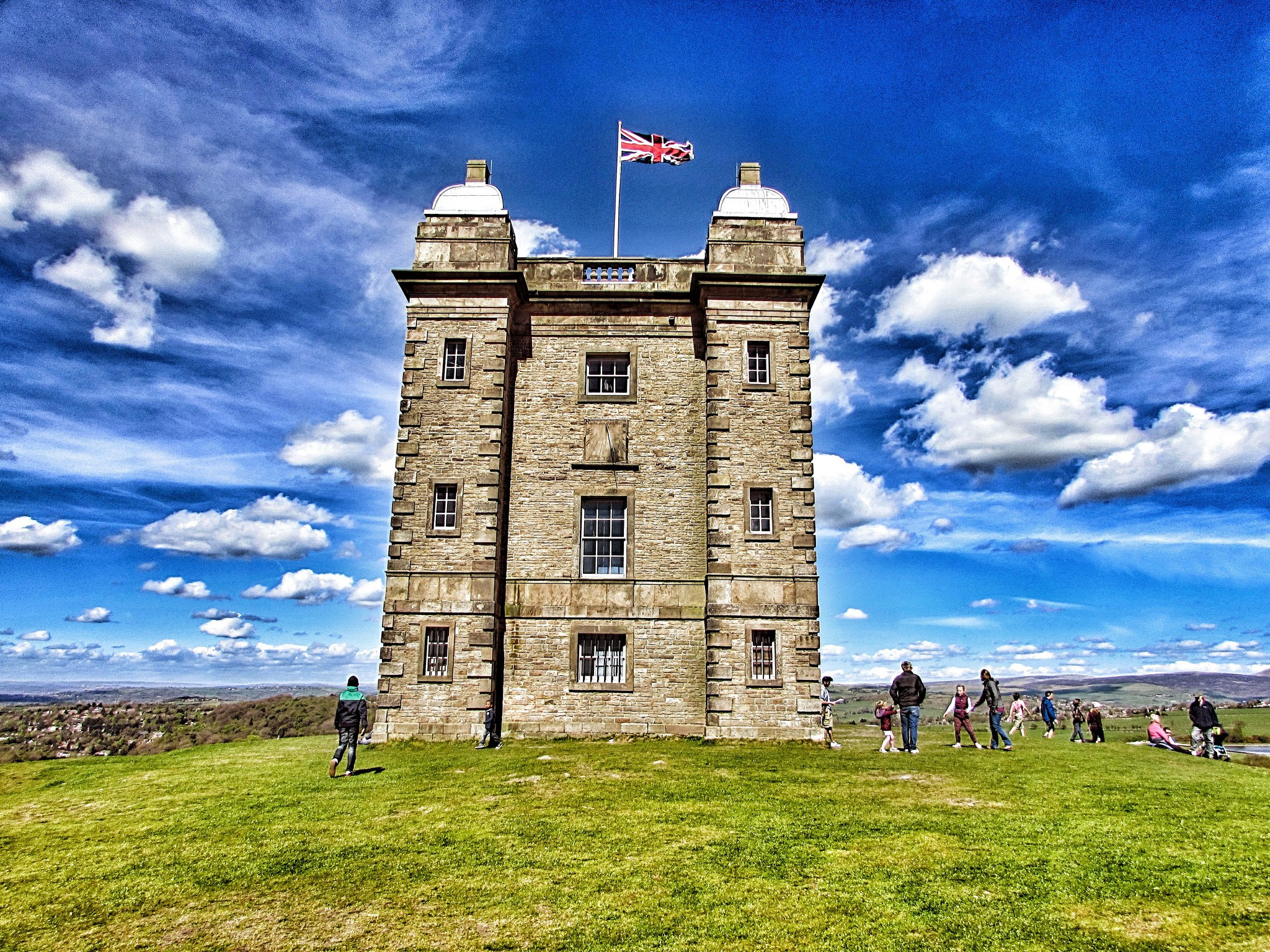 Lyme Park House & Estate. CC2.0 photo by Purpura Mare Asinus.