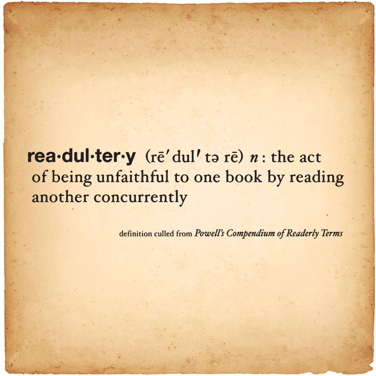 readultery