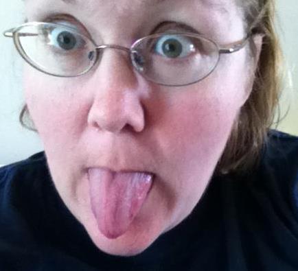 tongueout