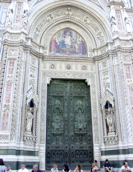 Entryway to the Duomo