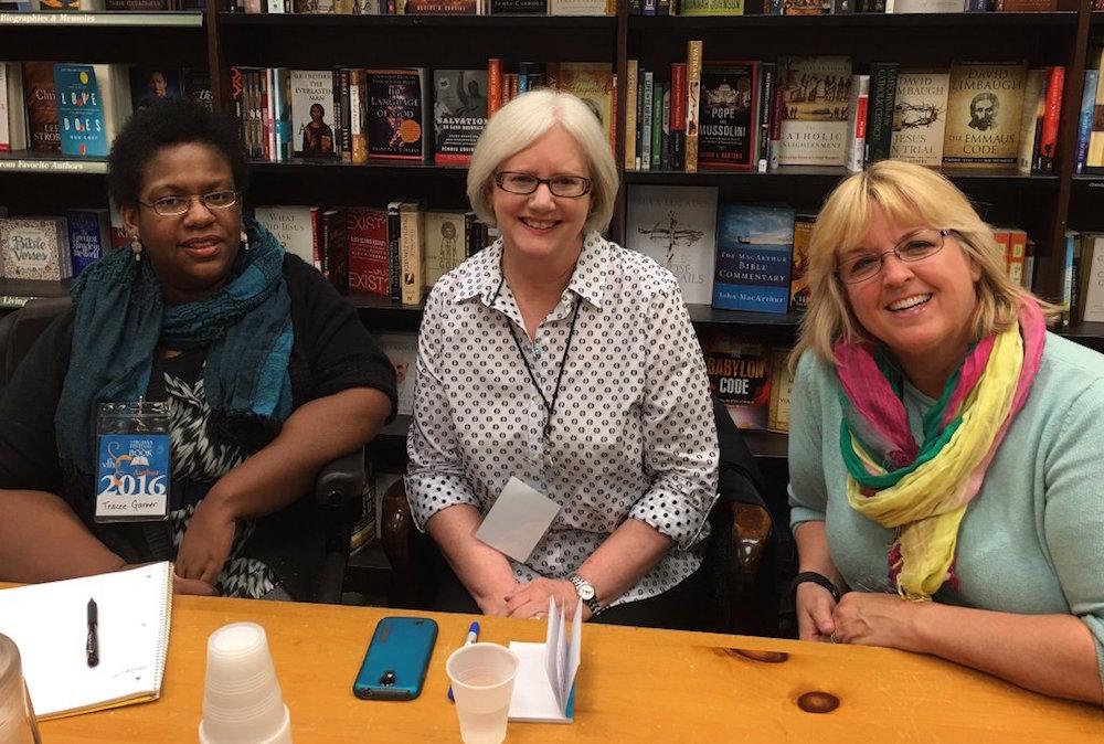 Tracee Garner, Linda Grimes, and Jenny Gardiner