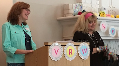 VRW Founding Members Carole Greene and Cynthia Holt Johnson