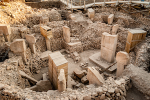 Gobekli Tepe (Pot-belly Hill) is an archaeological site